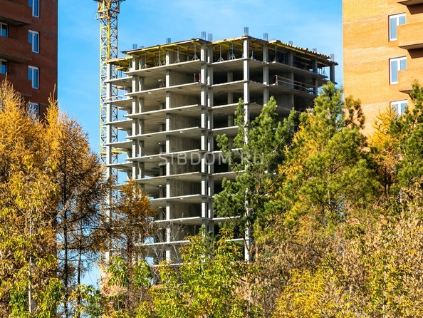 Фото КВАДРО, дом 1, Ход строительства 21 октября 2018