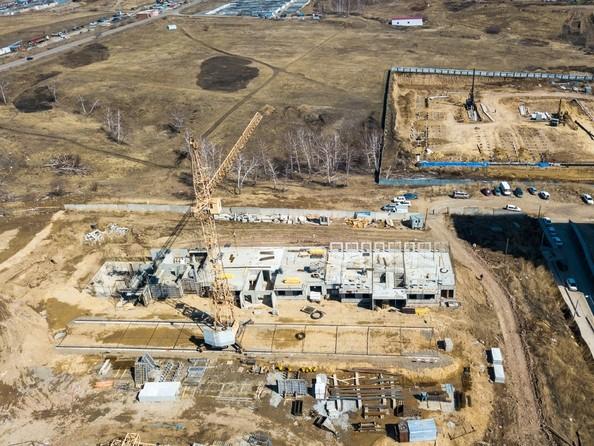 Ход строительства 24 апреля 2018