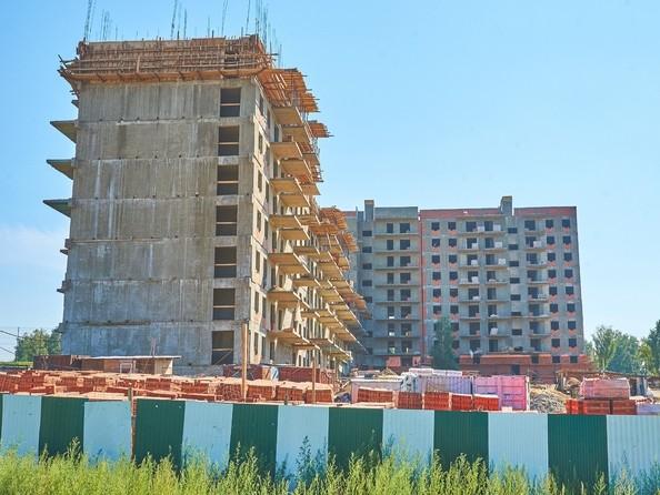 Фото Жилой комплекс ЭВОЛЮЦИЯ, 2 оч, б/с 4-1,2,3,4,5, Ход строительства 2 августа 2018