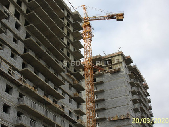 Ход строительства 20 марта 2020