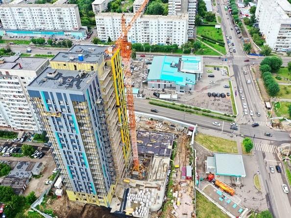 Ход строительства 30 июля 2020