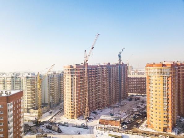 Фото Жилой комплекс РАДУЖНЫЙ, дом 3, Ход строительства 7 февраля 2018