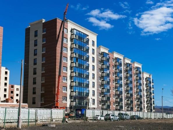 Фото Академгородок, дом 1, корп 1, Ход строительства 23 апреля 2019
