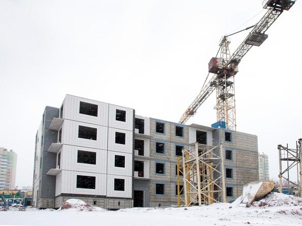 Фото Жилой комплекс КУРЧАТОВА, дом 8, стр 2, Ход строительства январь 2019