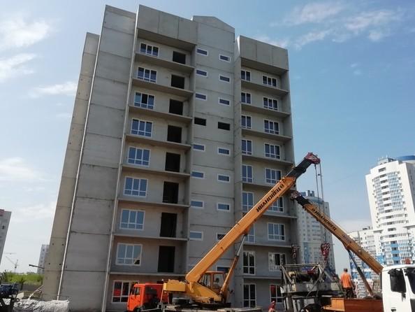Фото Жилой комплекс КЕМЕРОВО-СИТИ, дом 4г, Ход строительства август 2019