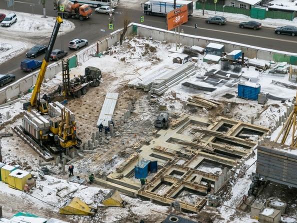 Фото Жилой комплекс НОВОНИКОЛАЕВСКИЙ ж/к, 2 дом, 3 стр, Ход строительства 5 декабря 2017