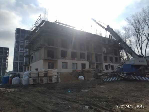 Ход строительства 29 марта 2021