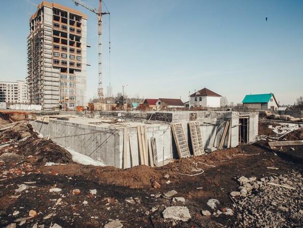 Фото Жилой комплекс ЮЖНЫЙ, дом «Гранатовый», Ход строительства март 2019