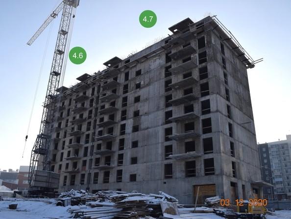Ход строительства 3 декабря 2020