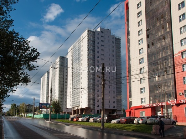 Фото Жилой комплекс НОВОНИКОЛАЕВСКИЙ ж/к, 2 дом, 3 стр, Ход строительства 15 сентября 2018