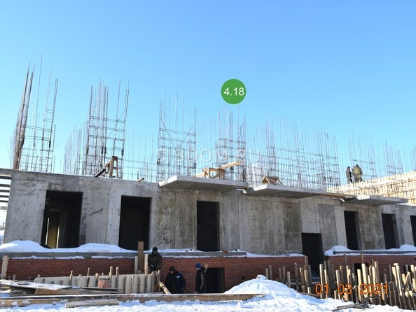 Ход строительства 1 марта 2021