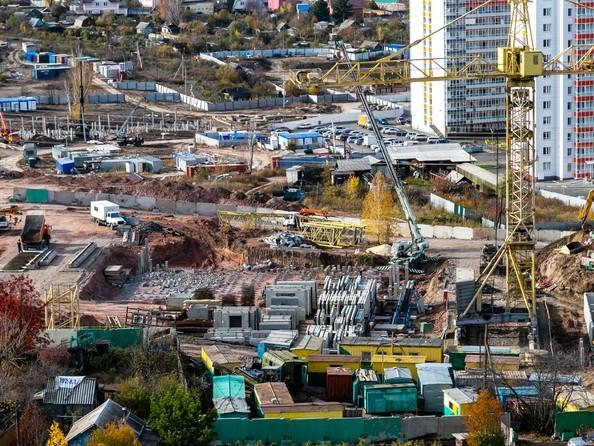 Фото Жилой комплекс КУРЧАТОВА, дом 8, стр 2, Ход строительства 9 октября 2018