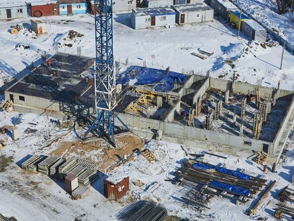 Фото Жилой комплекс ЯСНЫЙ БЕРЕГ, дом 12, Ход строительства март 2019