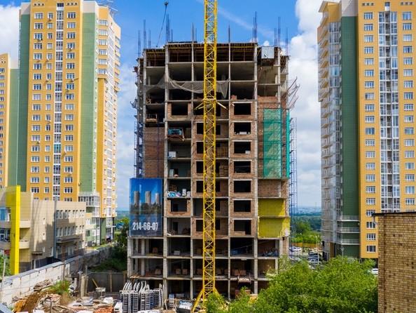 Фото Жилой комплекс ПЕРЬЯ, дом 1, Ход строительства 23 июня 2019