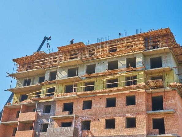 Фото Жилой комплекс ЯКОБИ-ПАРК, 2 оч, б/с 4, Ход строительства 2 августа 2018