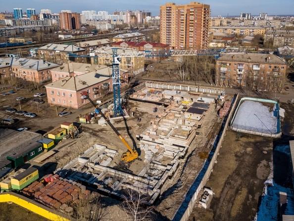Фото Жилой комплекс СВОИ ЛЮДИ , Ход строительства 6 апреля 2018