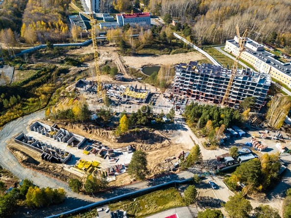 Фото Жилой комплекс ЭВОЛЮЦИЯ, 1 оч, дом 2, Ход строительства 8 октября 2018