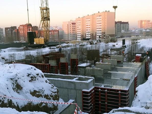 Фото Жилой комплекс КВАРТАЛ ДРУЖБЫ, дом 2, Ход строительства ноябрь 2018