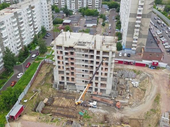 Фото Жилой комплекс FUSION (Фьюжн), Ход строительства 8 июля 2019