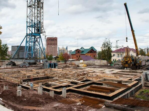 Фото Жилой комплекс КУРЧАТОВА, дом 6, стр 2, Ход строительства 27 сентября 2017