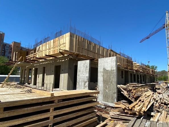 Ход строительства 4 июня 2021