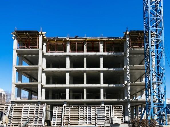 Фото ВЗЛЕТНАЯ, 7, Ход строительства 23 апреля 2019. Блок-секция 2
