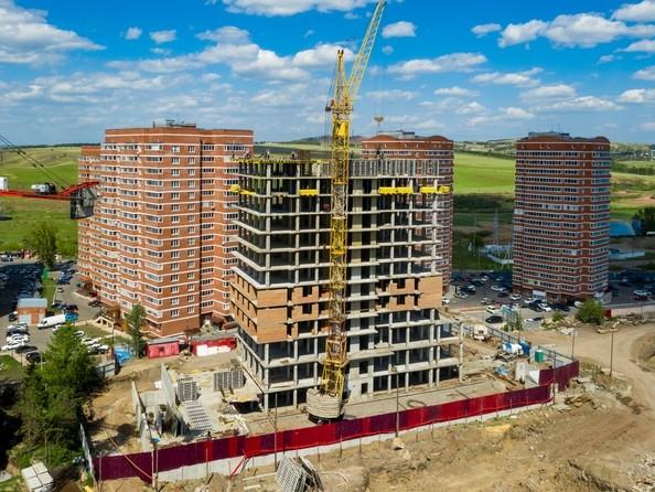 Фото ВЕРШИНА, Ход строительства 14 июня 2019