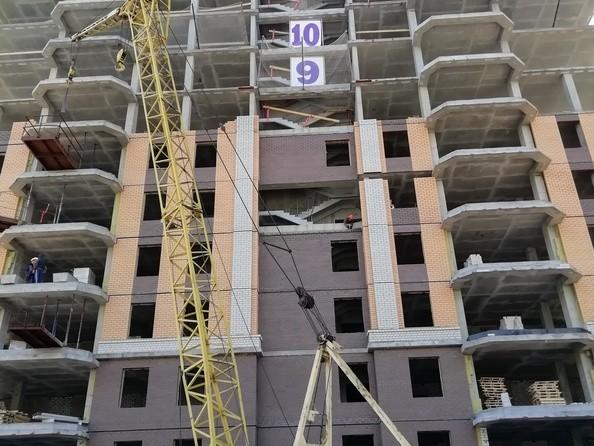Фото Жилой комплекс НОВАЯ ВЫСОТА, дом 2, Ход строительства июнь 2019