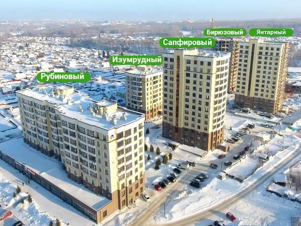 Фото ЮЖНЫЙ, дом «Янтарный», Ход строительства январь 2019
