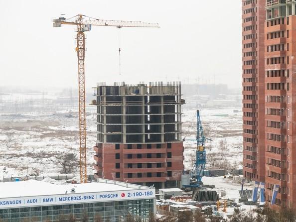 Фото Жилой комплекс КВАДРО, дом 1, Ход строительства 27 декабря 2017