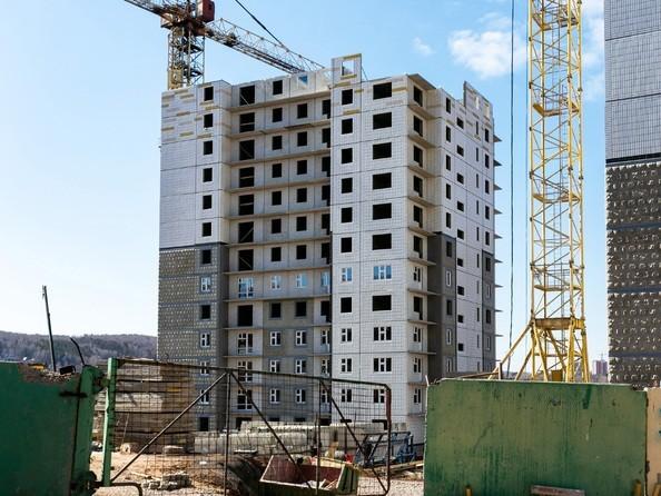 Фото КУРЧАТОВА, дом 8, стр 2, Ход строительства 14 апреля 2019