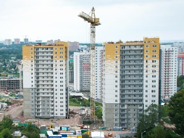 Фото Жилой комплекс КУРЧАТОВА, дом 8, стр 2, Ход строительства 17 июля 2019