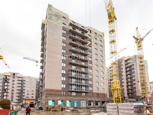 Ход строительства 22 марта 2021