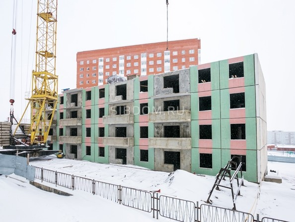 Фото СНЕГИРИ, дом 6, Ход строительства 5 декабря 2017