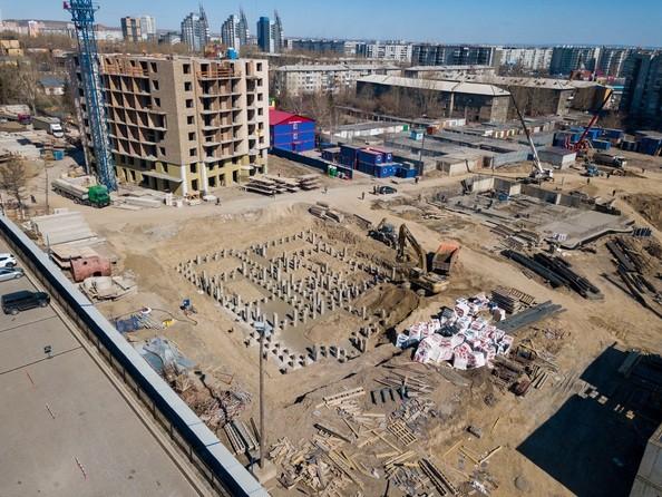 Фото Жилой комплекс SCANDIS (Скандис), дом 8, Ход строительства 14 апреля 2019
