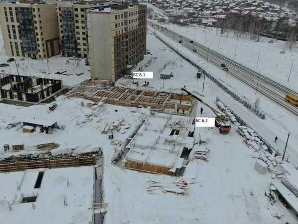 Ход строительства 6 февраля 2021