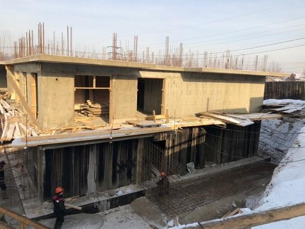 Фото Жилой комплекс КОРИЦА, дом 1, Ход строительства январь 2019