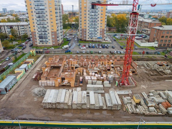 Фото Жилой комплекс ДИНАСТИЯ , 1 этап, Ход строительства Сентябрь 2017