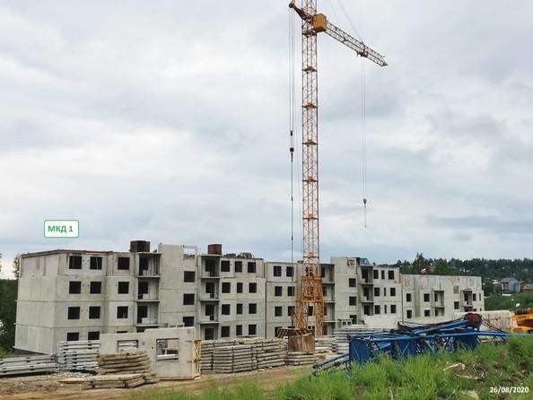 Ход строительства 28 августа 2020