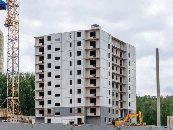 Ход строительства 26 июля 2020