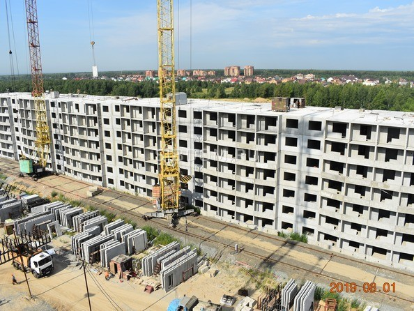 Ход строительства 1 августа 2019