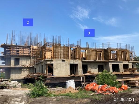 Ход строительства 2 августа 2021
