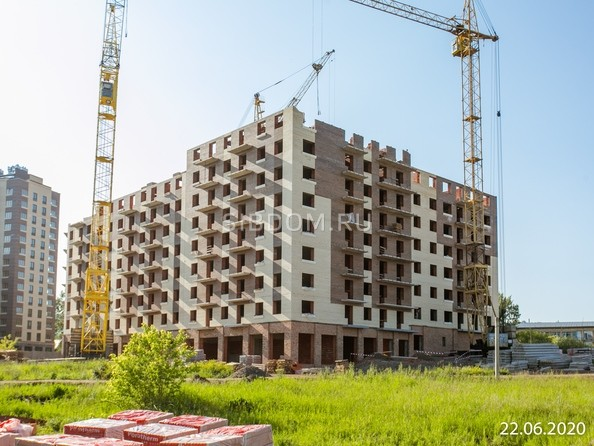 Ход строительства 23 июня 2020