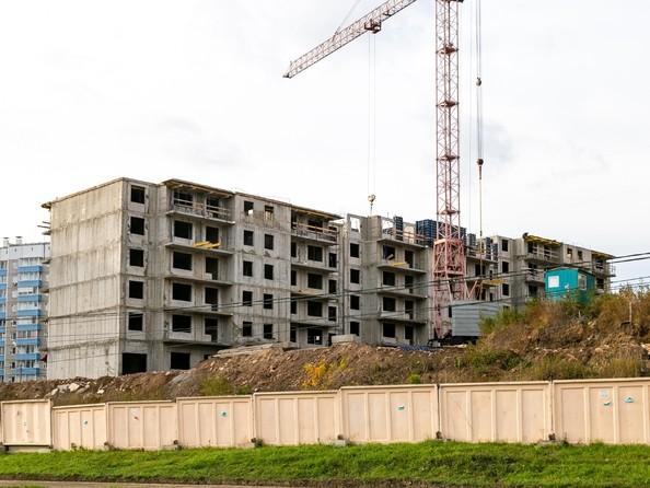 Фото Жилой комплекс Солнечный, 3 мкр, 2 квартал, дом 11, Ход строительства 21 октября 2018