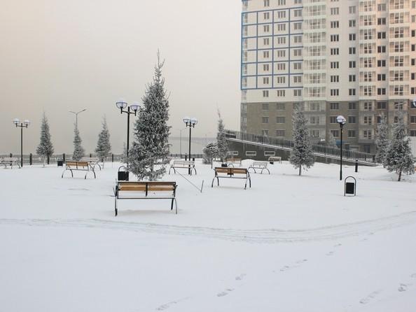 Фото Жилой комплекс ТИХИЕ ЗОРИ, дом 1 (Красстрой), Благоустройство придомовой территории