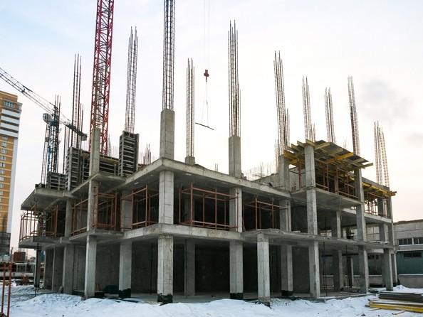 Фото Жилой комплекс ВЗЛЕТНАЯ, 7, Ход строительства 22 декабря 2018. Блок-секция 1