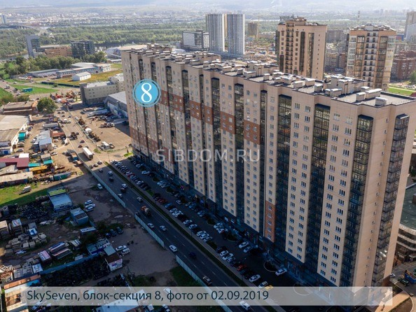 Фото SKY SEVEN, б/с 8, 2 оч, Ход строительства 5 сентября 2019