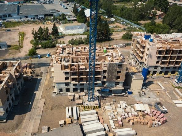 Фото Микрорайон SCANDIS (Скандис), дом 3, Ход строительства 25 июня 2018