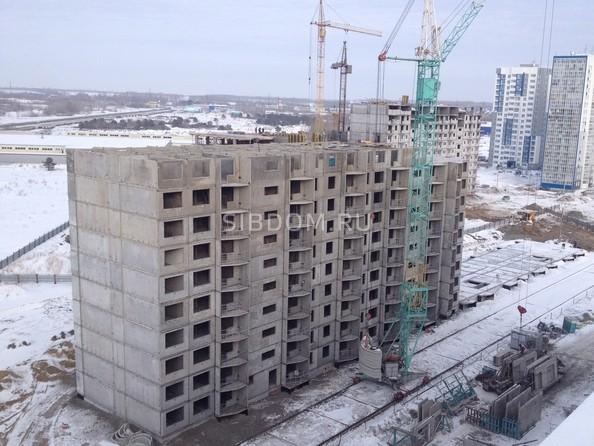 Фото Жилой комплекс ВРЕМЕНА ГОДА, дом 110, Ход строительства февраль 2019