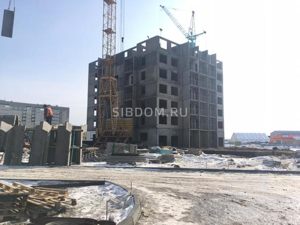 Фото Жилой комплекс ВРЕМЕНА ГОДА, дом 24, Ход строительства февраль 2019
